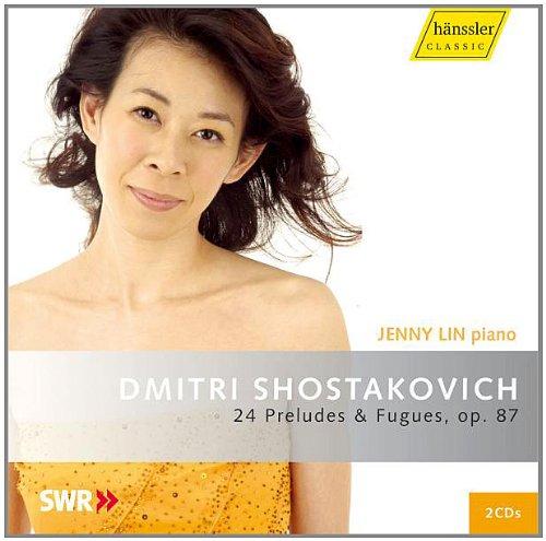 ショスタコーヴィチ:24の前奏曲とフーガ Op.87 (Shostakovich : 24 Preludes & Fugues/Jenny Lin) (2CD)