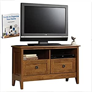Tv stand entertainment center console wood media furniture storage home theater 40 Home theater furniture amazon