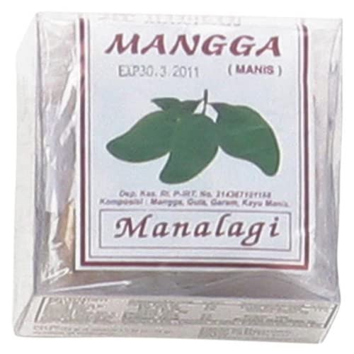 Amazon.com : Manalagi Sweet Dried Mango (Manisan Mangga), 25-grams