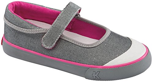 See Kai Run Florence Fall 2014 Sneaker (Toddler/Little Kid),Silver,10.5 M Us Little Kid front-433502