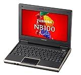 TOSHIBA ネットブックPC SSD搭載モデル NB100/HF シャンパンゴールド  PANB100HNUF