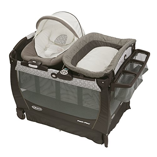Cheapest Prices! Graco Pack 'n Play Playard Snuggle Suite LX, Abbington