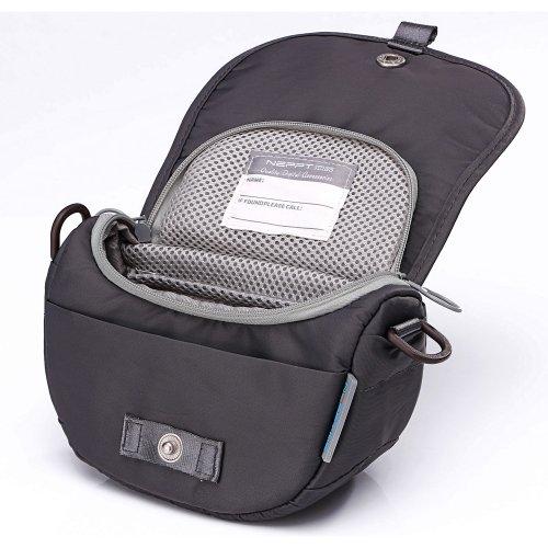 Neppt Mirrorless Digital Camera Shoulder Bag,Portable Waterproof Nylon Camera Case for Sony NEX-5TL/3
