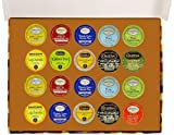 Crazy Cups Decaf Tea Deluxe Sampler Pack, K-Cup Portion Pack for Keurig K-Cup Brewers (Pack of 20)