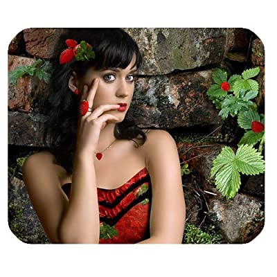 Katy Perry Best Female Artist Personalized Rectangle Mouse Pad