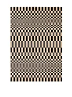 Tapis a Porter Alfombra Veranda Gris/Beige 120 x 170 cm