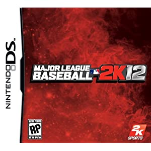 Major League Baseball 2K12 Nintendo DS Video Game