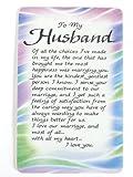 To My Husband Keepsake Wallet Card Blue Mountain