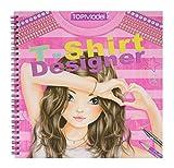 album de coloriages TOP MODEL tee shirt designer...