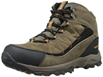 Hot Sale Hi-Tec Men's Utah II WP Hiking Boot,Brown/Clementine,12 M US