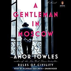 A Gentleman in Moscow Audiobook