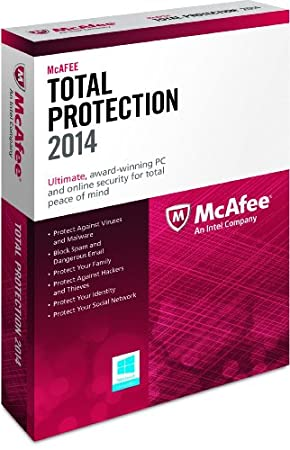 McAfee Total Protection 1PC 2014