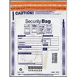 EGP Small Single Clear Pocket Bank Deposit Bag - 9 x 12