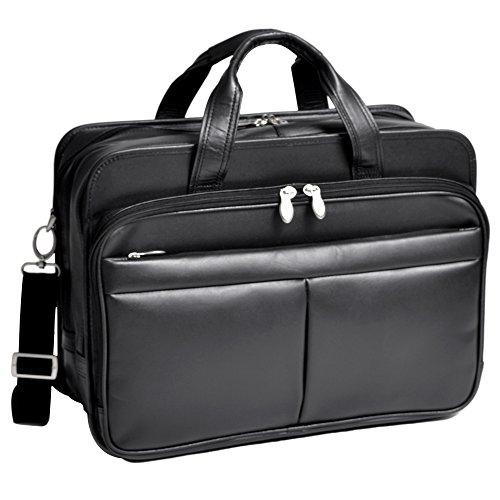 mckleinusa-walton-83985-black-expandable-double-compartment-laptop-case-w-removable-sleeve