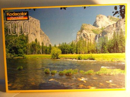 1000 Piece Kodacolor Puzzle - Bridal Veil Falls, CA - 1