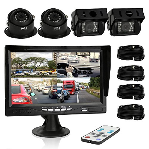 PYLE Rear-View Backup Camera & Video Monitor, (Commercial Monitor compare prices)
