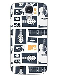 Samsung S4 Cases & Covers - MTV Gone Case - Keep Calm And Play Guitar - White - Designer Printed Hard Shell Case