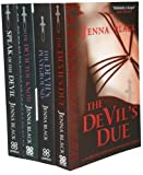 Jenna Black - Morgan Kingsley Exorcist Series 4 Books Set Pack Collection RRP � 29.96 (The Devil you Know, Speak of the Devil, The Devil's Due, The Devil's Playground) (Morgan Kingsley Exorcist)