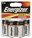 Energizer E93BP4 Max C4 Batteries