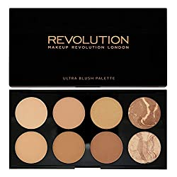 Makeup Revolution Blush and Contour Palette All about Bronzed, 13g