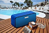 Xoundstar® Smart Wireless Bluetooth Speaker Portable High-Fidelity Stereo Speaker with Wireless SIRI Connectivity built-in passive subwoofer with two 40mm 5-watt drivers 1800 Mah 10 hours Battery for iPhone 4/5/5s/5ciPad.Samsung Galaxy 4/5 and All Other Android Bluetooth Devices - Red