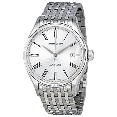 Hamilton Valiant Silver Dial Stainless Steel Mens Watch H39515154 from designer Hamilton