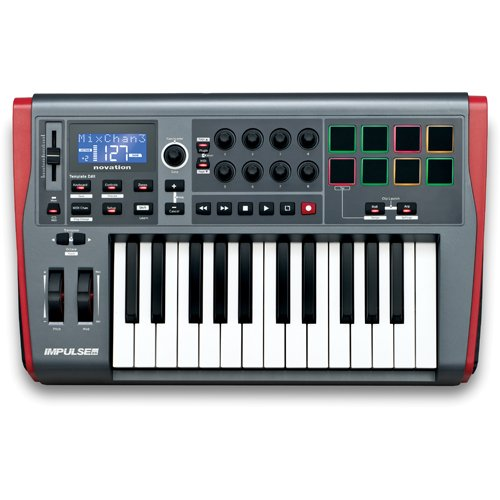 Novation Impulse 25 tasti controller midi usb + ableton live lite