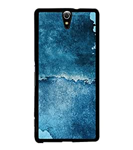 Abstract Blue Pattern 2D Hard Polycarbonate Designer Back Case Cover for Sony Xperia C5 Ultra Dual :: Sony Xperia C5 E5533 E5563