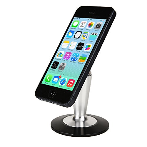 Click to buy Cooper Pedestal Sony Xperia Tablet Z Wi-Fi (SGP311, SGP312) Desk Tabletop Metal Display Stand (Non-Slip Base; Magnetic Steel Ball Attachment; 360-Degree Rotation; Reusable Panel Glue Pad) - From only $26.45