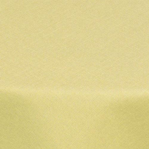 textil tischdecke leinen optik 160cm rund mit fleck schutz gelb abwaschbar farbe w hlbar. Black Bedroom Furniture Sets. Home Design Ideas