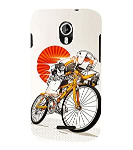Cycle sport 3D Hard Polycarbonate Designer Back Case Cover for Micromax Canvas Magnus A117
