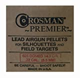 Crosman Premier .22 Cal, 14.3 Grains, Domed, 625ct