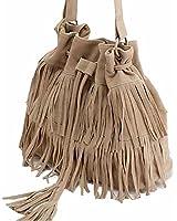 Dawdyfu Womens Retro Vintage Fringe Tassel Shoulder Bag Handbags Messenger Bag