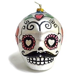 Day Of The Dead Sugar Skull Ornament Halloween
