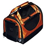 3-in-1 Soft-Sided Pet Carrier Large Tangerine