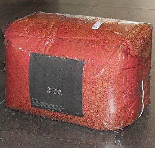 steppbett-doppelbett-zucchi-collection-lampasse-col1-rot-260-x-260-doppelbett-100-jacquard-aus-reine