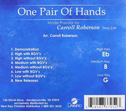 one pair of hands sheet music pdf