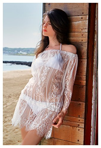 e13b4304c1 MG Collection Sheer Lace Swimsuit Cover Up