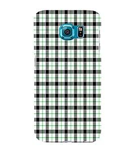 EPICCASE green checks Mobile Back Case Cover For Samsung Galaxy S6 Edge Plus (Designer Case)