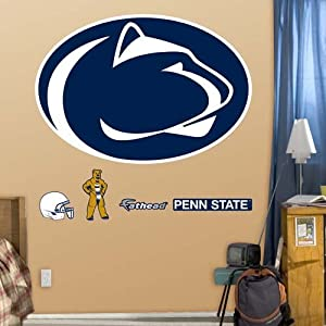 NCAA Penn State Nittany Lions Logo Wall Graphic by Fathead