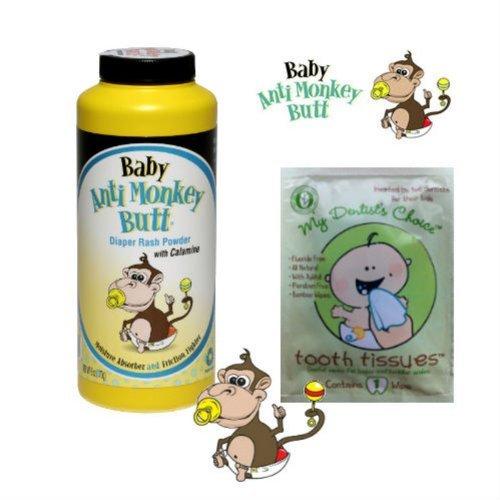 Baby Anti Monkey Butt Powder 6Oz Andtooth Tissue Sample