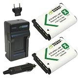 Wasabi Power Sony NP-BX1, Cyber-shot DSC-HX50V 用 互換バッテリー+充電器セット [並行輸入品]
