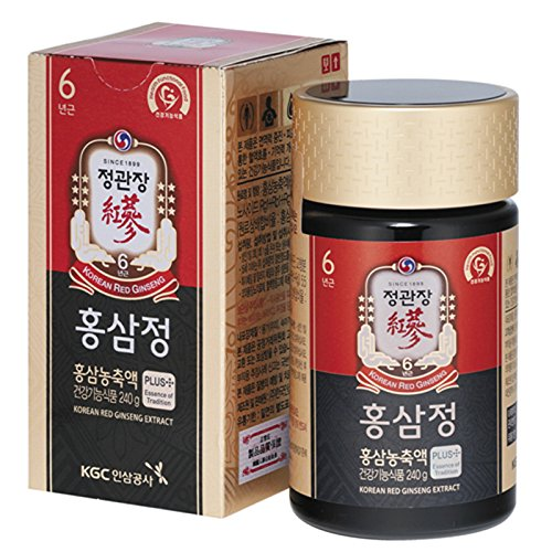 KGC Cheong Kwan Jang Korean Red Ginseng Extract Plus 240 Gram (Korean Red Ginseng Pure Extract compare prices)