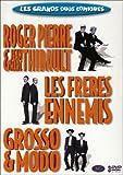 echange, troc Les Grands Duos Comiques : 3 DVD - Les Frères Ennemis / Grosso & Modo / Roger Pierre & Jean-Marc Thibault