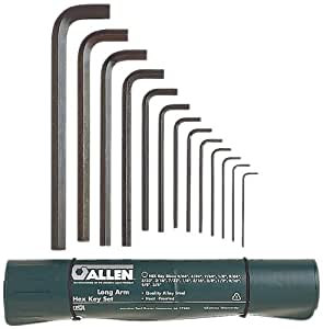 Allen 56013 Long Arm SAE Hex Key Set, 13-Piece