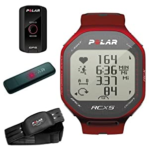 Buy Polar RCX5 G5 GPS Heart Rate Running Monitor Computer Watch Red by Polar