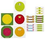 トルネ へんしんおにぎりラップ フルーツ&アニマル 15枚入 (5柄各3枚)