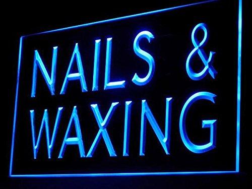 C B Signs Salon Spa Nails & Waxing Led Sign Neon Light Sign Display