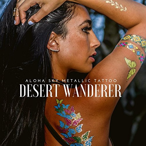 aloha-sky-desert-wanderer-metallic-temporary-tattoos-festival-flash-tats-for-electric-daisy-carnival
