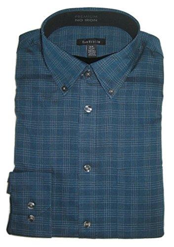Van-Heusen-Mens-Premium-No-Iron-Medium-Plaid-Shirt